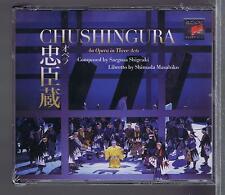 CHUSHINGURA 3 CDS SET  NEW SAEGUSA SHIGEAKI  OTOMO NAOTO
