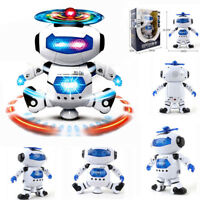 Modern LED Dance Robot Kids Toddler Robot 3 4 5 6 7 8 9 Year Old Age Boys Toy