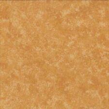 1 Coupon Tissu Patchwork 45 X 55 cm Makower Spraytime Faux-uni topaze ambré  Q57