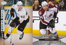 11-12 Upper Deck Stefan Elliott /100 UD Exclusives Young Guns Rookie 2010