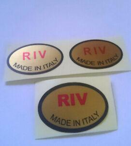 Lambretta D 150 TV 175 1 & 2 RIV front & Rear Shock Sticker set