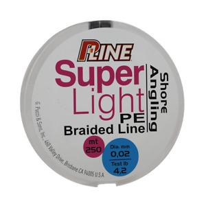 P-LINE SUPER LIGHT BRAIDED PE 100m & 250 m All Sizes