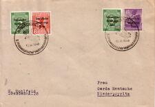 ALLEMAGNE - OCCUPATION RUSSE - RADEBEUL - LE 12-12-1948 - BEL AFFRANCHISSEMENT