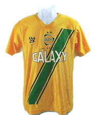 Vintage Golden LA Los Angeles Galaxy Soccer Jersey Short Sleeve 06 Gary Mandel