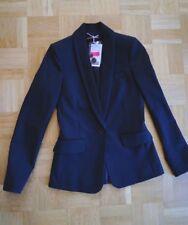 Comptoir des Cotonniers Woll Blazer 34 XS Texture schwarz Jacket Anzug Jacke neu