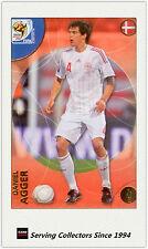 2010 Panini World Cup Soccer Trading Card Common No69 Daniel Agger (Danmark)