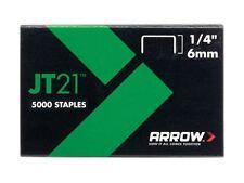 Arrow JT21 T27 grapas 6mm (0.6cm) Caja 5000