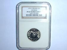 1999-S 25C Silver Georgia State Quarter NGC PF 69 UC