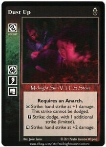 Dust Up Anarchs Unbound Kickstarter V:TES VTES Vampire CCG