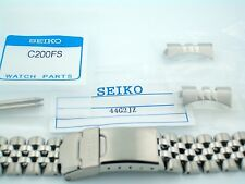 SEIKO NEW GENUINE 20MM JUBILEE BRACELET FOR -SKX013 -WITH TWO C200FS SPRING BARS