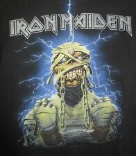 "Hanes Label - 2007 IRON MAIDEN ""EDDY in BANDAGES"" (SM) T-Shirt POWERSLAVE"