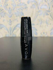 Avon Ultra Colour Rich 24k Gold Lipstick Pink Shade Rare Discontinued