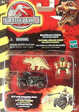 Jurassic Park Diecast Vehicle ATV With Grappling Hook & Baby Triceratops