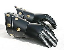 Platten Ritter Handschuhe Ritterhelm Larp Rüstung Helm Reenactment sca  R21S