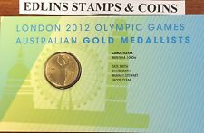 2012 $1 London Olympic Games Australian gold medallists- canoe/kayak 1000m