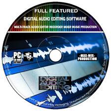 Digital Audio Editing Software Multi-Track Recorder Mixer Music Production 2020