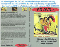 WOMEN OF ALL NATIONS (1931) DVD Disc Only VICTOR MCLAGLEN YOU CHOOSE SHIPPING