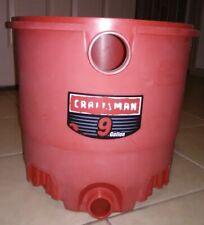 Sears Craftsman 9 gallon wet dry vac drum 829971-21