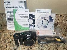 Canon PowerShot SX160 IS 16.0MP Digital - Black