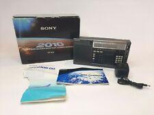 Sony ICF-2010 Shortwave Radio AM FM SSB CW Receiver w/ Box and Manuals