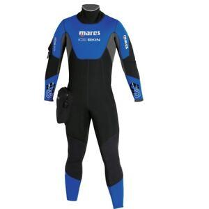 MARES Ice Skin Wetsuit Semidry Neoprene 7mm Hooded Wetsuit Semi-Dry