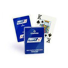 1 Mazzo di Carte da gioco Copag EPT European Poker Tour 100% plastica pvc blu