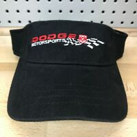 Dodge Motorsports Ram Logo NASCAR Licensed Black Visor NOS with Tags New Hat Cap