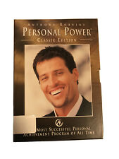 Anthony Robbins Personal Power Classic Edition 7 Day Edition CD Box Set