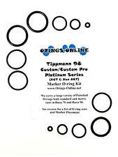 Tippmann 98 Platinum Custom / Custom Pro Paintball Marker O-ring Kit x4 rebuilds