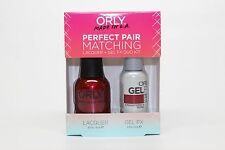 31165 - Orly Gel FX .3oz + Nail Lacquer .6oz Combo - Crawford's Wine