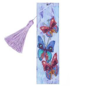 AU Seller - 5D Crystal Diamond Painting Butterflies Kit - 21cms x 6cms