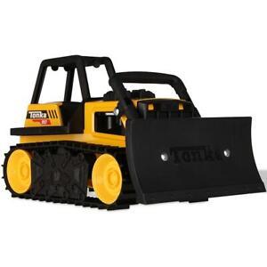 Tonka Steel Classics Bull Dozer, Construction, Vehicle Toy - Kids Ages 3 Years +