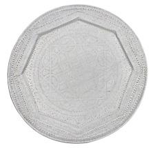 Moroccan Vintage Aluminium Tray Diameter 85cm 33.5'' (ALT5)