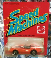 Hot Wheels vintage Speed Machines Second Wind Orange UNPUNCHED minty