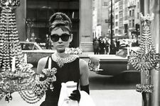 Audrey Hepburn - Breakfast At Tiffanys Window POSTER 61x91cm NEW * classic scene