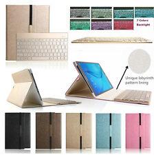 """Samsung Galaxy Tab A 9.7"""" T550 Backlit Wireless Keyboard Business Folio Case"""
