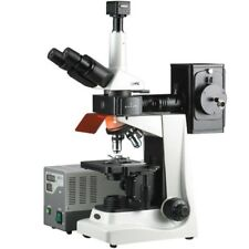 AmScope 40X-1600X EPI Fluorescence Trinocular Microscope + 10MP Digital Camera
