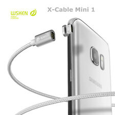 Original wsken cable Mini 1 magnético para teléfono inteligente Android Apple IOS Micro Usb