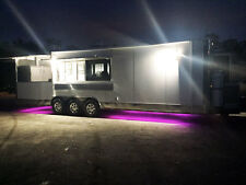 8.5X30 Bbq Porch Trailer; Sinks, Hood, Finished Interior, triple 7,000 axles