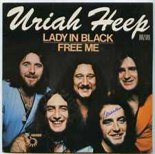 """french 45t (7"""") SP URIAH HEEP / Lady in black + Free me / Bronze 1977"""