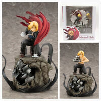 Fullmetal Alchemist Edward Elric Action Figure Collection 30cm Toy Gifts In Box