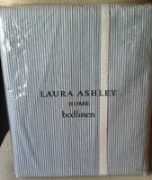 Laura Ashley Chadwick SUPER KING Duvet Cover + 2 P/cases / Bedset Seaspray Blue