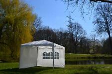 Gazebo Pieghevole 2x2m Klappzelt Tenda da Giardino Popup Impermeabile+