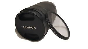 Tamron 18-400mm F3.5-6.3 Di II VC HLD Lens - Black + UV Filter. As New Condition
