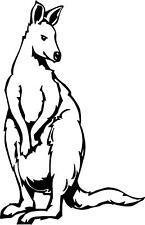 kangaroo marsupial australia new guinea R/L/M Vinyl Decal Sticker 877-2 j23