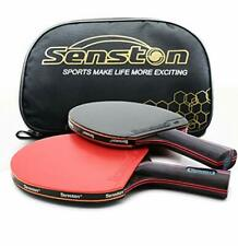 Senston Professional Ping Pong Paddle Set with 2 High Performance Table Tennis
