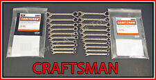 CRAFTSMAN HAND TOOLS 20pc IGNITION SAE & METRIC MM Wrench Set! (MADE IN USA)!