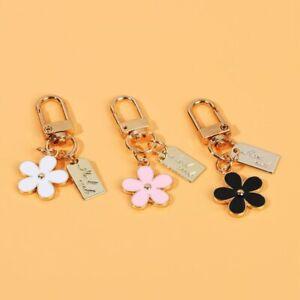 Women Decoration Keychains Pendant for Purse Flower Key Chain Bag Charm Keyring