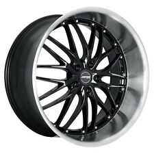 MRR GT1 19x8.5 5x114.3 Black Wheels Rims (Set of 4)