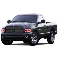 for Dodge Ram 1500 02-05 Red LED Halo kit for Headlights